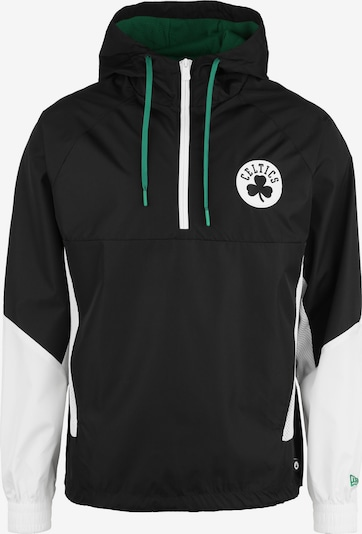 NEW ERA Windbreaker 'NBA Panel Boston Celtics' in schwarz, Produktansicht