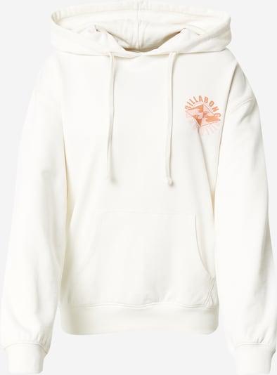 BILLABONG Sweatshirt in Coral / Dark orange / White, Item view