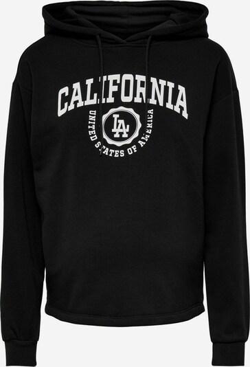 Only Maternity Sweatshirt in schwarz, Produktansicht