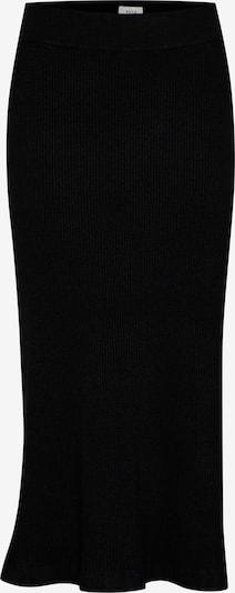 PULZ Jeans Strickrock 'PZSARA' in schwarz, Produktansicht