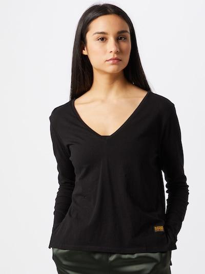 G-Star RAW T-shirt en noir: Vue de face