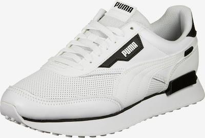 PUMA Niske tenisice 'Future Rider' u crna / bijela: Prednji pogled
