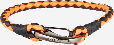 DIESEL Bracelet 'A-LYSA' in orange / black, Item view