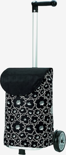 Andersen Shopper Trolley 'Lilo' in de kleur Groen / Zwart / Wit, Productweergave