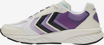 Hummel Sneakers in Lavender / Dark purple / Black / White, Item view