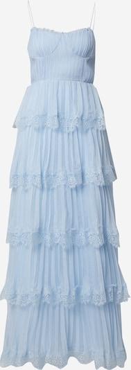 True Decadence Robe de soirée en bleu clair, Vue avec produit