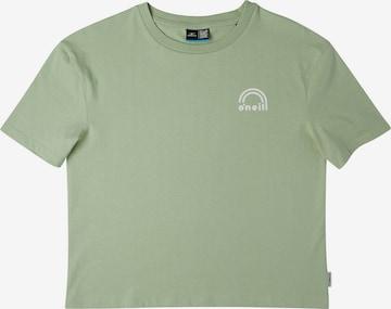 O'NEILL T-Shirt 'Surf Beach' in Grün