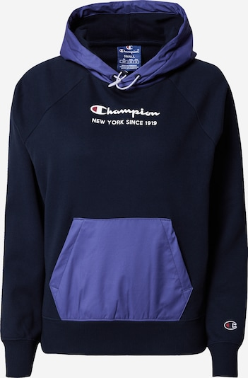 Champion Authentic Athletic Apparel Sweatshirt in blau / nachtblau / weiß, Produktansicht