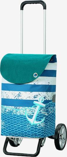Andersen Shopper Einkaufstrolley ' Meer' 58 cm in türkis / mischfarben, Produktansicht