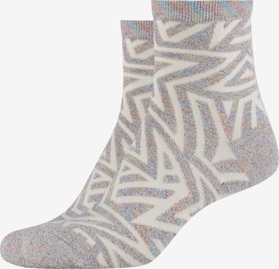 FUN Socks Anklet Socks 'Star' in silber, Produktansicht