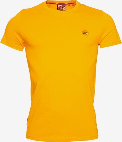 Superdry T-Shirt en orange: Vue de face