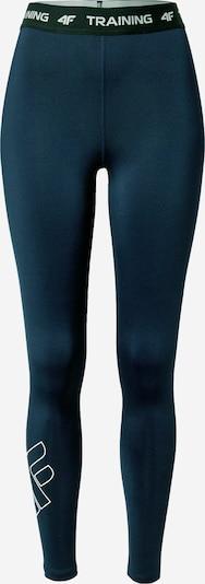 4F Leggings in navy / schwarz / weiß, Produktansicht