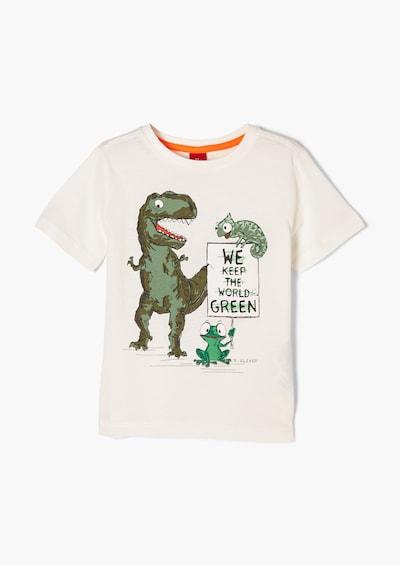 s.Oliver T-Shirt in mischfarben / weiß, Produktansicht