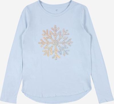 Marškinėliai iš GAP , spalva - šviesiai mėlyna / Auksas: Vaizdas iš priekio