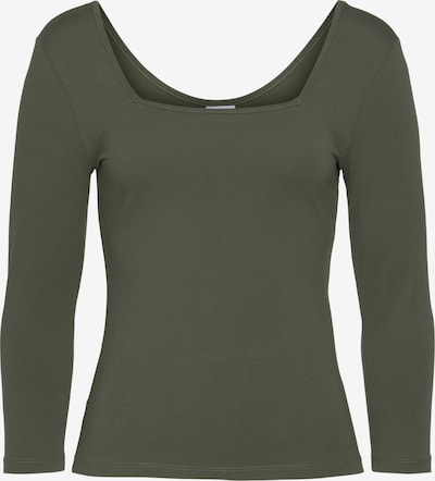 LASCANA Shirt in khaki, Produktansicht