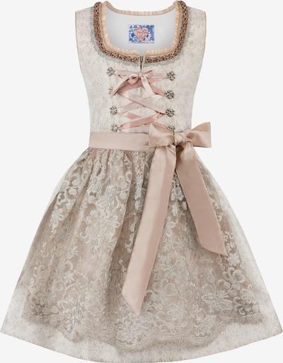 STOCKERPOINT Dirndl 'Evia' in beige / rosa, Produktansicht