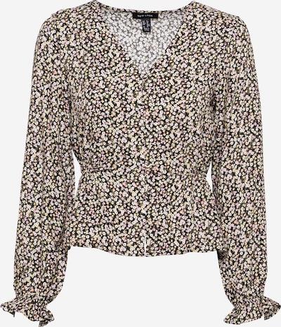 NEW LOOK Bluse 'Damara' in mischfarben / schwarz, Produktansicht