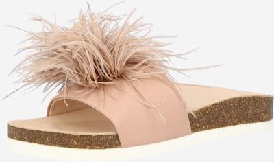 SUNSHINE Klapki 'Jen' w kolorze jasnoróżowym, Podgląd produktu