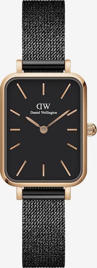 Daniel Wellington Uhr in gold / schwarz, Produktansicht