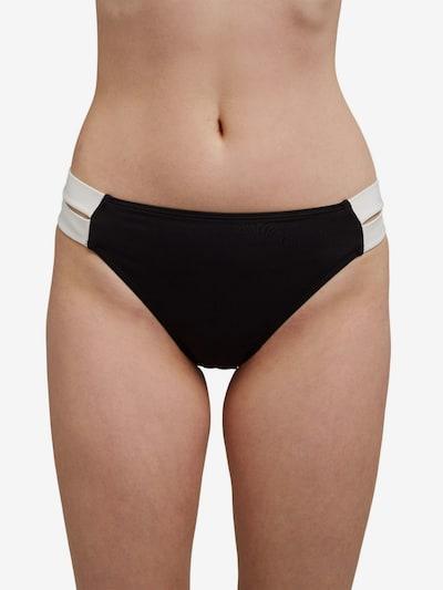ESPRIT Bikinohose in schwarz / weiß, Modelansicht