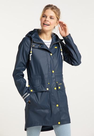 Palton de primăvară-toamnă Schmuddelwedda pe marine / galben / alb, Vizualizare model