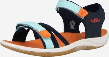 KEEN Sandaalid 'VERANO', värv must
