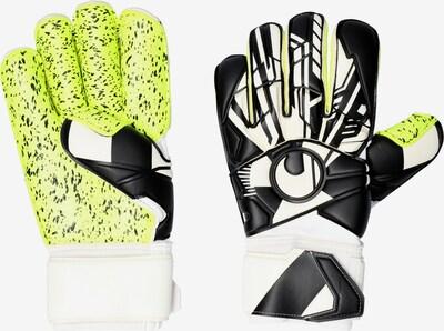 UHLSPORT Handschuh in neongelb / schwarz / weiß, Produktansicht
