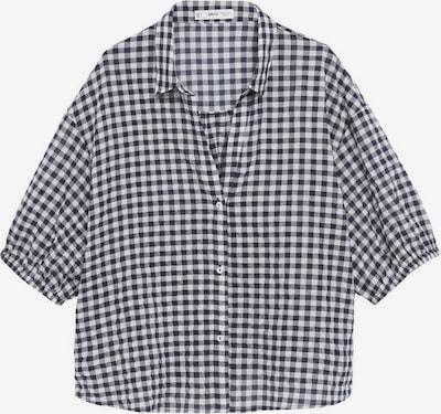 Bluză VIOLETA by Mango pe bleumarin / alb, Vizualizare produs