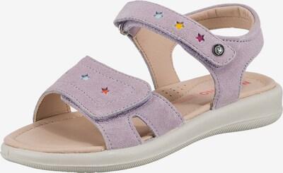 NATURINO Sandale in helllila, Produktansicht