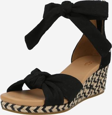 Sandale 'W YARROW' de la UGG pe negru