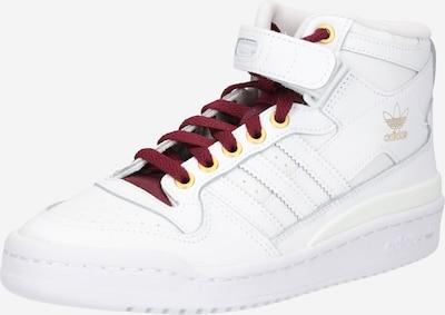 Sneaker înalt ADIDAS ORIGINALS pe auriu / roșu bordeaux / alb, Vizualizare produs