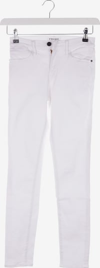 FRAME Jeans in 26 in White, Item view