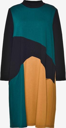 GOZZIP Robe 'Nikoline Dress' en jaune / vert / noir, Vue avec produit