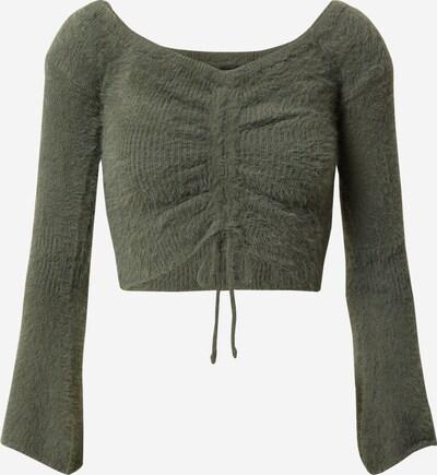 Parallel Lines Pullover in grün, Produktansicht
