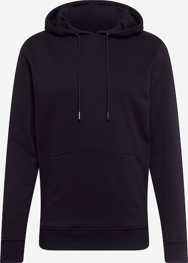 Urban Classics Sweatshirt 'Terry ' in black: Frontal view