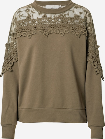Cream Sweatshirt 'Kalanie' i grønn