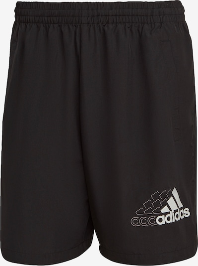 ADIDAS PERFORMANCE Pantalon de sport 'Essentials' en noir / blanc, Vue avec produit