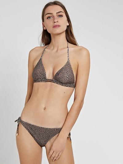 brokát / fekete Shiwi Bikini 'Liz', Modell nézet