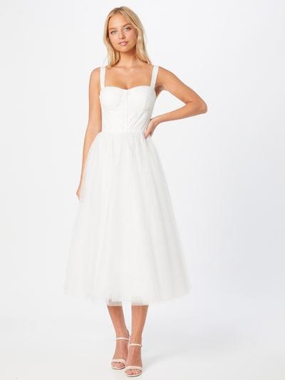 Rochie de seară Chi Chi London pe alb, Vizualizare model