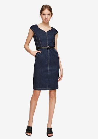 COMMA Dress in Blue