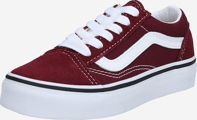 Sneaker 'Old Skool' VANS pe roșu sânge / alb, Vizualizare produs