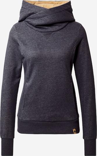 Fli Papigu Sweatshirt 'Schönste Frau in Stadt' in de kleur Blauw gemêleerd, Productweergave