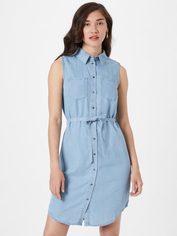 ONLY Kleid 'CLAIRE' in Blau