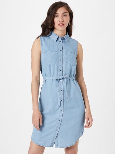 ONLY Kleid 'CLAIRE' in blue denim, Modelansicht