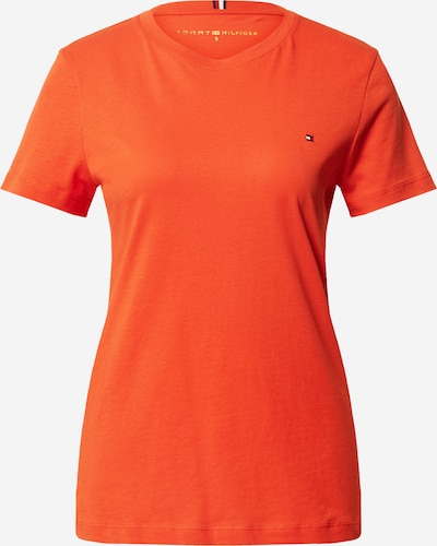 TOMMY HILFIGER T-Shirt in orangerot, Produktansicht