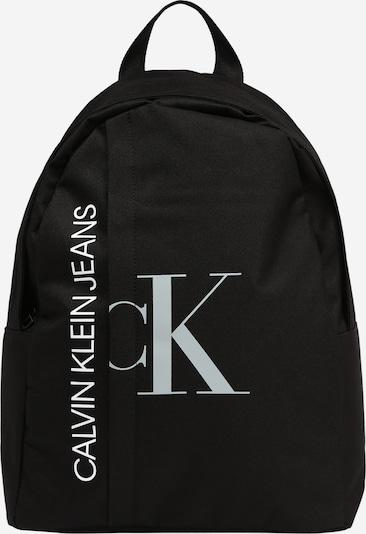 Calvin Klein Jeans Backpack in schwarz / weiß, Produktansicht