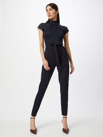 WAL G. Jumpsuit 'MACE' in navy, Modelansicht
