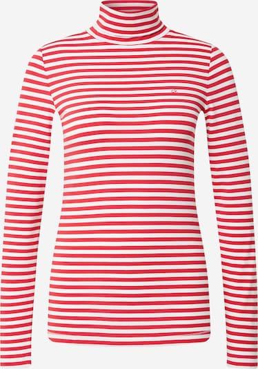 Calvin Klein Shirt in rot / weiß, Produktansicht