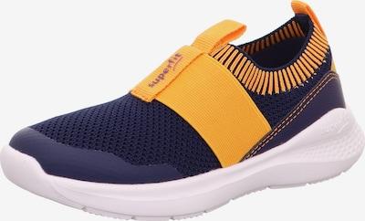 SUPERFIT Sneaker 'FLASH' in navy / orange, Produktansicht