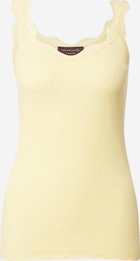 rosemunde Haut en jaune clair, Vue avec produit